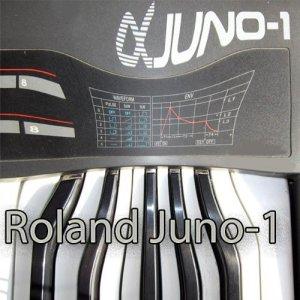 Roland Juno-1Large Bibliothèque de sons et Monteurs sur CD