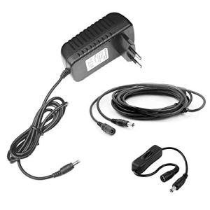 MyVolts Chargeur/Alimentation 12V Compatible avec Yamaha P-70 Clavier (Adaptateur Secteur) – Prise française – Premium