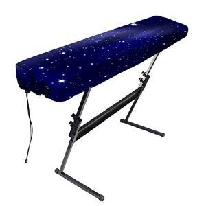 Clavier électronique universel 61/88 touches résistant à la poussière avec cordon de serrage et fonction étanche, protection extensible pour clavier piano 61 touches
