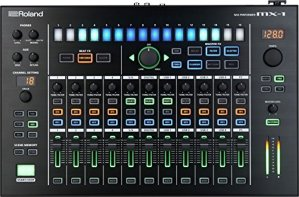 Roland MX-1 18canaux table de mixage audio – tables de mixage audio (18 canaux, 24 bit, 100000 Ohm, -26, Secteur, 400 mm)