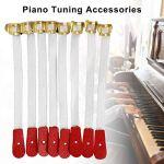 Wood.L 50pcs Piano Corde d'escalade Tuning Bride Sangle Piano Cording Cord Instrument Accessoires