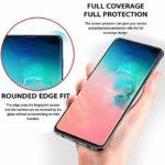 GIMTON Verre Trempé pour Galaxy S10, Dureté 9H Film Protection Écran Vitre, sans Poussière Protection en Verre Trempé Écran pour Samsung Galaxy S10, 3 Pièces
