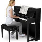 Classic Cantabile UP-1 SM piano numérique noir mat SET Deluxe