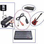 zdyCGTime RCA Mâle à MIDI 7 broches Câble d'extension,Connecteur MIDI 7broches 1 femelle à 2 RCA Mâle Audio adaptateur,Compatible avec Bang & Olufsen, Naim, systèmes stéréo quad (1.5m)