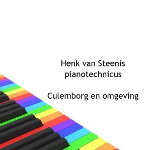 Pianostemmers Henk van Steenis
