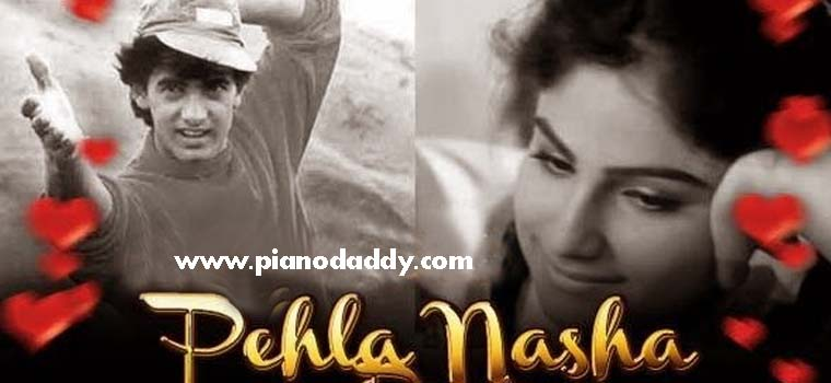 Pehla Nasha Piano Notes Westen Style Pehla Nasha Piano Tutorial
