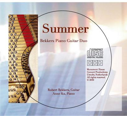 New CD of Bekkers Piano Guitar Duo