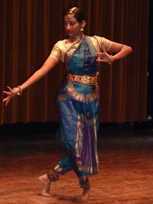 Kalpana Raghuraman, Indian classical dancer. Photo: H. Fransen