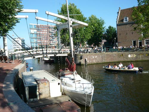 The Western Islands of Amsterdam. Photo: J. Huber