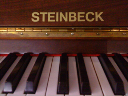 Steinbeck upright piano in Deventer