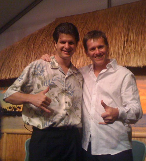 Jeff Peterson and Robert Bekkers at Napili