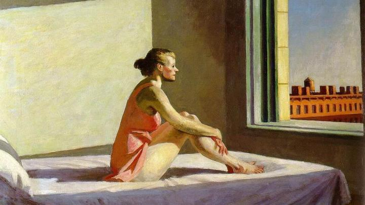 Hopper Morning Sun