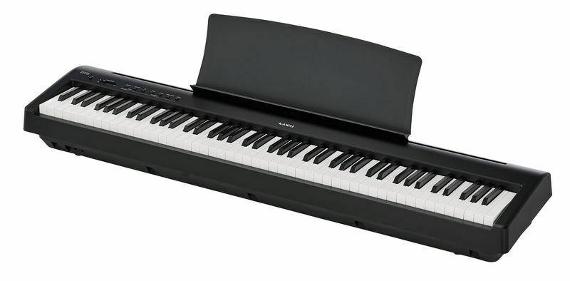 piano digital para iniciación.