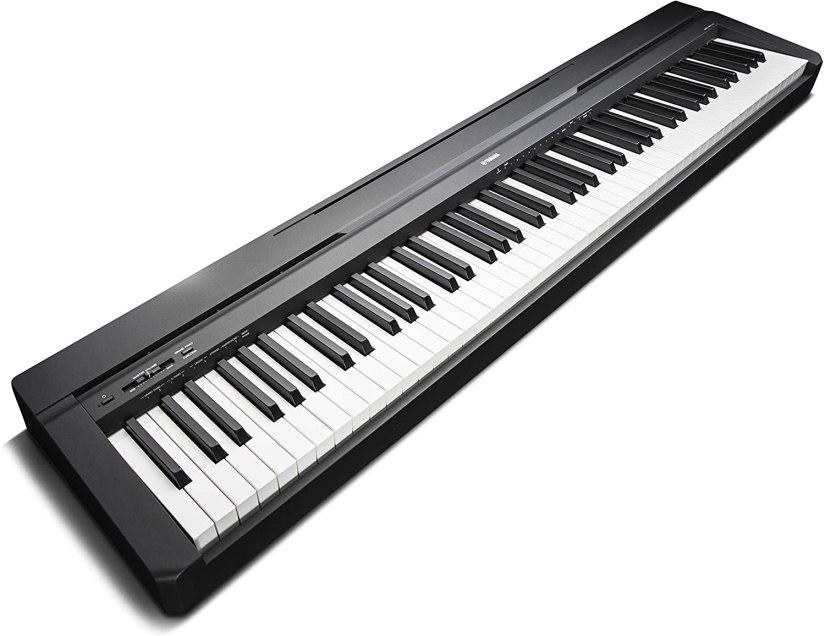 Piano digital para principiantes Yamaha p 45
