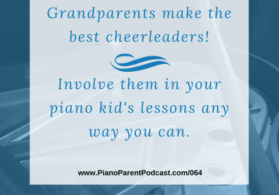 PPP064: Jacki Alexander shares how important grandparents are in piano lessons