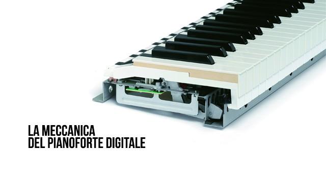 la meccanica del pianoforte digitale