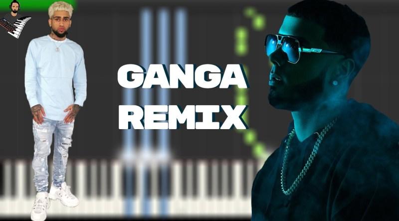 Gan-Ga Remix con Anuel AA - Bryant Myers