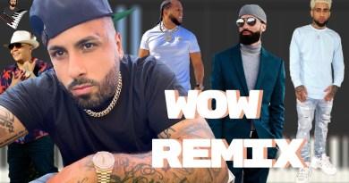 Bryant Myers Arcangel Nicky Jam El Alfa & Darell - Wow Remix