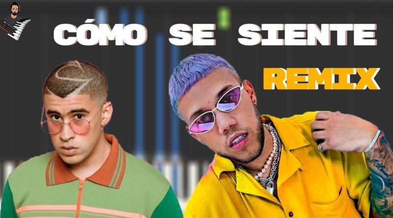 CÓMO SE SIENTE (Remix) - Jhay Cortez x Bad Bunny