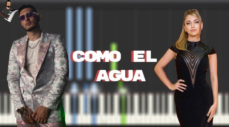 Ana Mena & Omar Montes - Como el Agua (Remix)