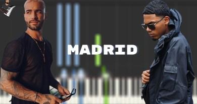 Maluma Myke Towers - Madrid