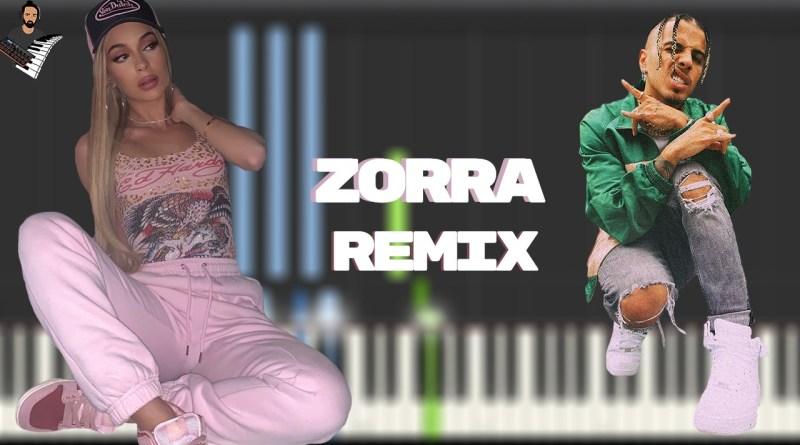 Bad Gyal & Rauw Alejandro - Zorra Remix