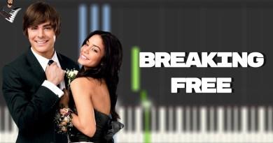 Troy & Gabriella - Breaking Free (High School Musical)