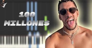 BAD BUNNY & LUAR LA L - 100 MILLONES