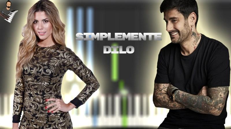Melendi & Miriam Rodríguez - Simplemente Dilo
