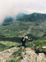 PiArt Vision: Călin Hera, în urcare dinspre Căldarea Văii Rele. Foto: Oana Ivan