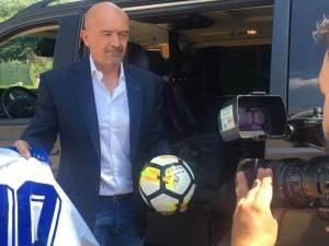 Luigino Pellegrini, fostul agent al lui Roberto Baggio, aduce tabăra de fotbal Juventus Torino în România