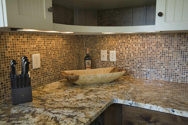 to install natural stone mosaic tile