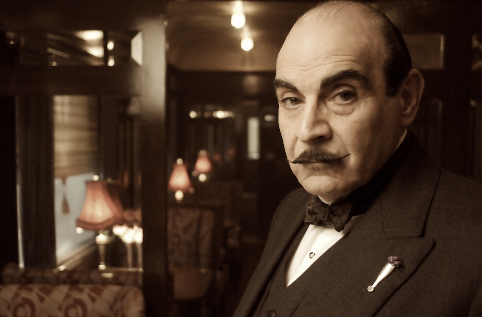 "Hercule Poirot in ""Murder on the Orient Express"""