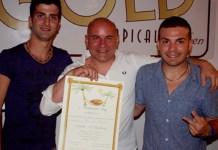 Giovanni Venneri con il figlio Roberto