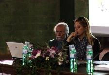 Aldo D'Antico e Chiara Coppola del Gal Serre Salentine