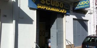 """uno dei supermercati """"Scudo"""""""