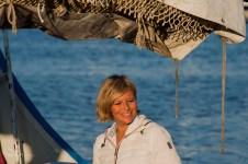 Donatella Bianchi, la conduttrice di Linea Blu - foto di Michele Piccinno