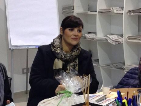 Nadia Marra, scrittrice e sceneggiatrice di Gallipoli