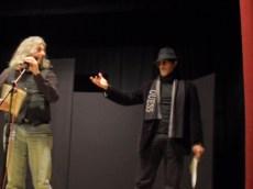 Danny Cortese e Salvatore Coluccia della Compagnia Armonauti-Chinaski