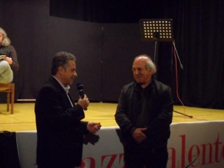 Giorgio Tricarico e il direttore Fernando D'Aprile