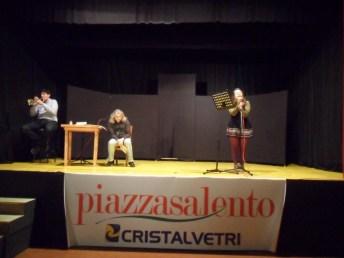 Da destra Viviana Casalino, Danny Cortese e Gianni Alemanno