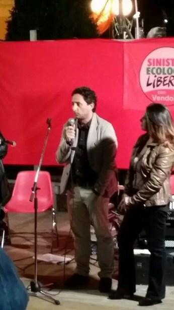 Danilo Scorrano e Irene Strazzeri di Sel