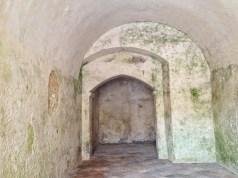 Rivellino - ingresso murato