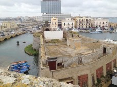 Rvellino - vista su arena e Gallipoli