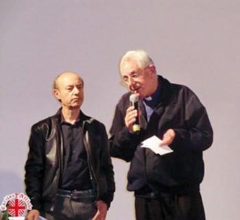 Da sinistra Cosimo Casto insieme a don Franco Francioso
