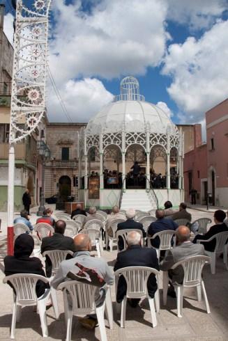 La cassa armonica per La prima volta in piazza Garibaldi - ph Gigi Garofalo