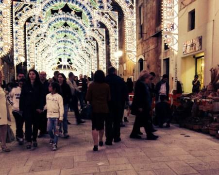 La festa in piazza Garibaldi