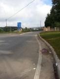 Il luogo dell'incidente
