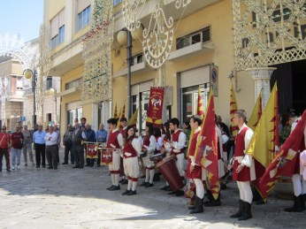 Gli sbandieratori di Capurso - San Giorgio 2014