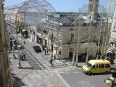 Piazza Municipio vista dall'alto